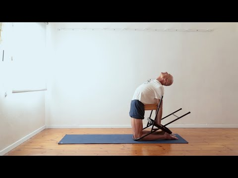 Improve your Ustrasana (the Camel Pose) with a chair